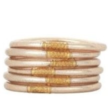 Champagne All Weather Bangles- Medium