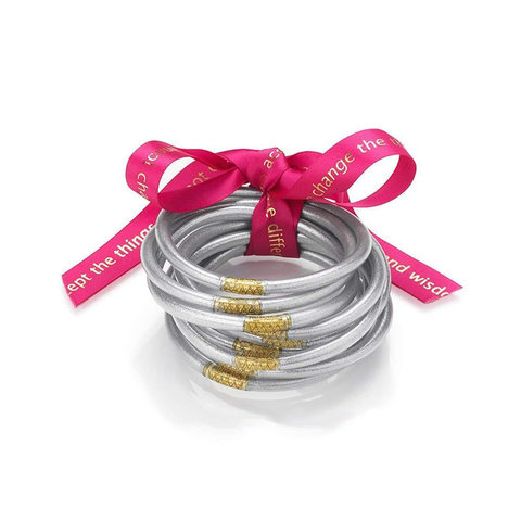 Silver All Weather Bangles