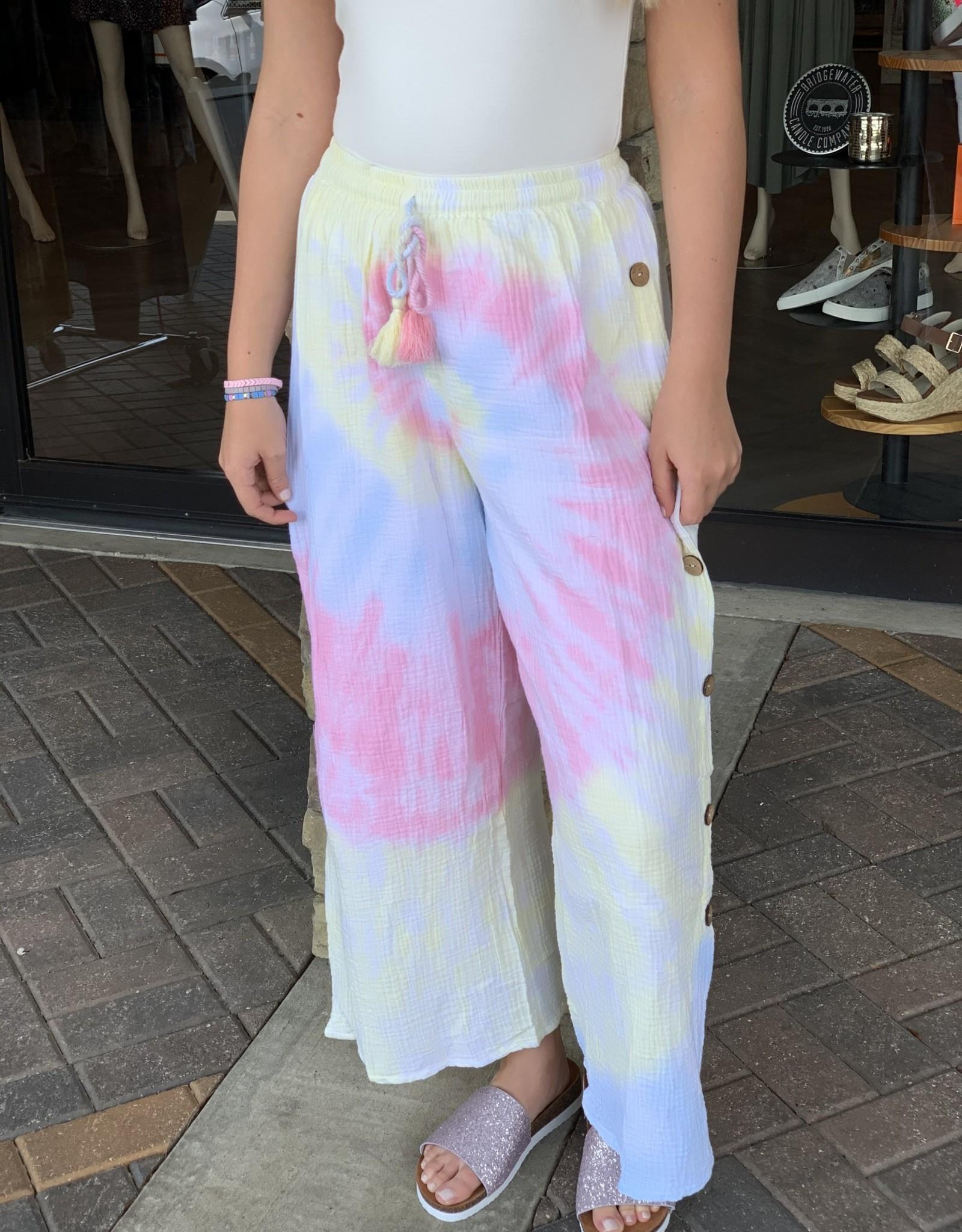 Karlie Rainbow Gauze Pant