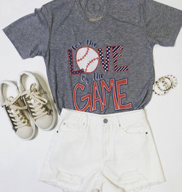 jane marie For the Love of the Game TEe