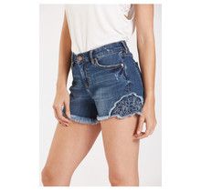 Moody Blue- Ava Highrise Short