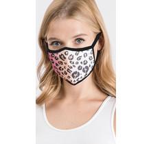 Tie Dye animal print mask