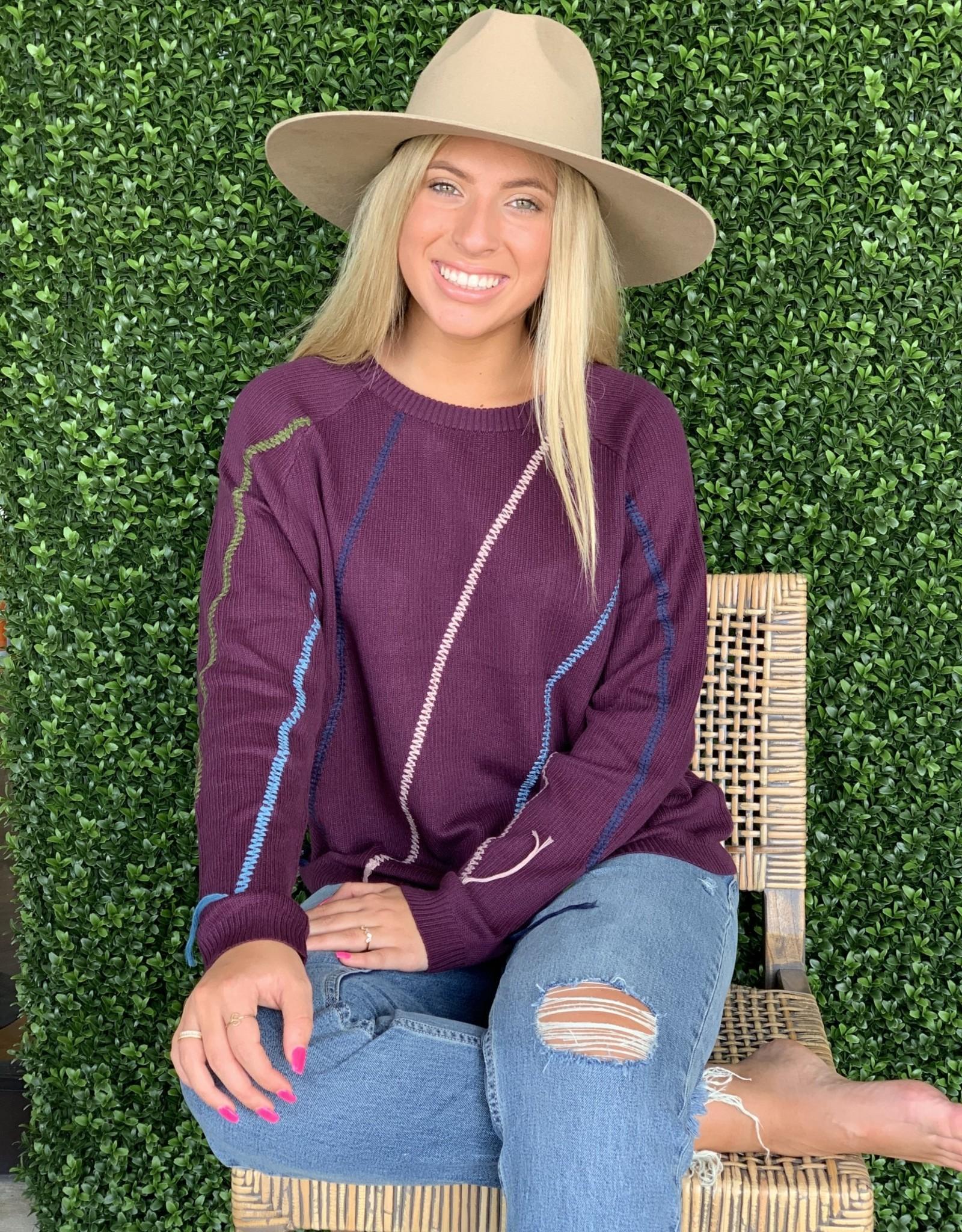 Syrah- Zinnia light weight Sweater