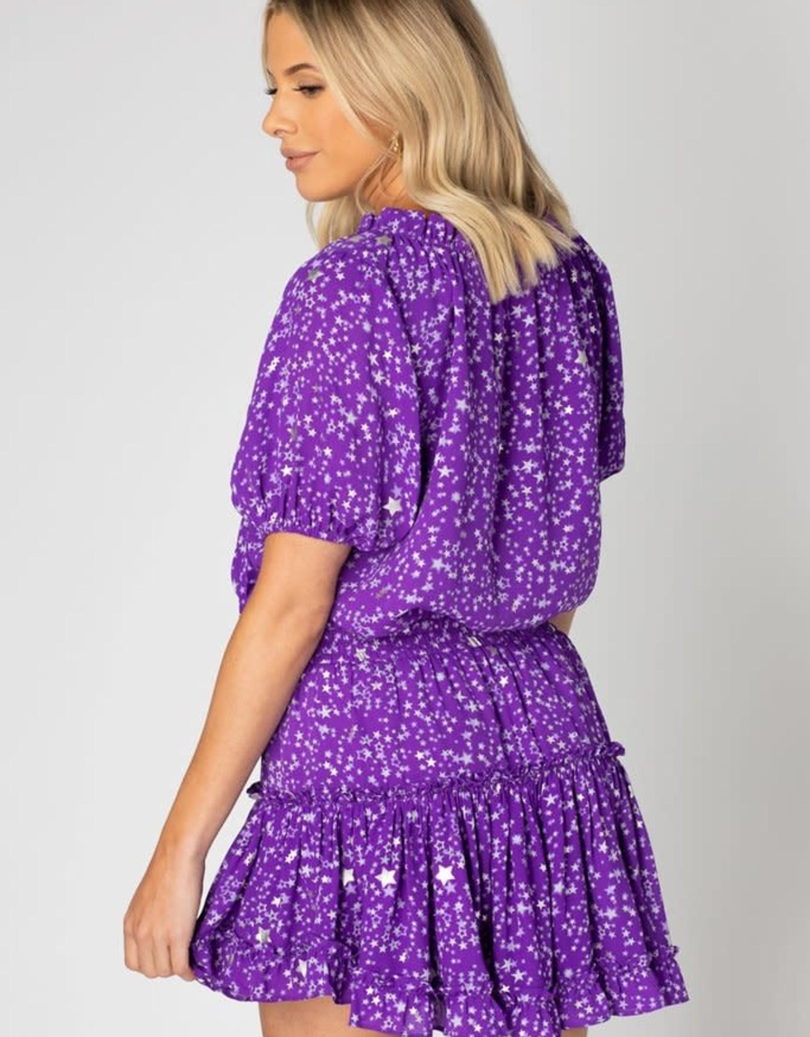 Ray Star Ultraviolet Dress