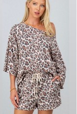 Trend:Notes Taupe Leopard Print Lounge Set