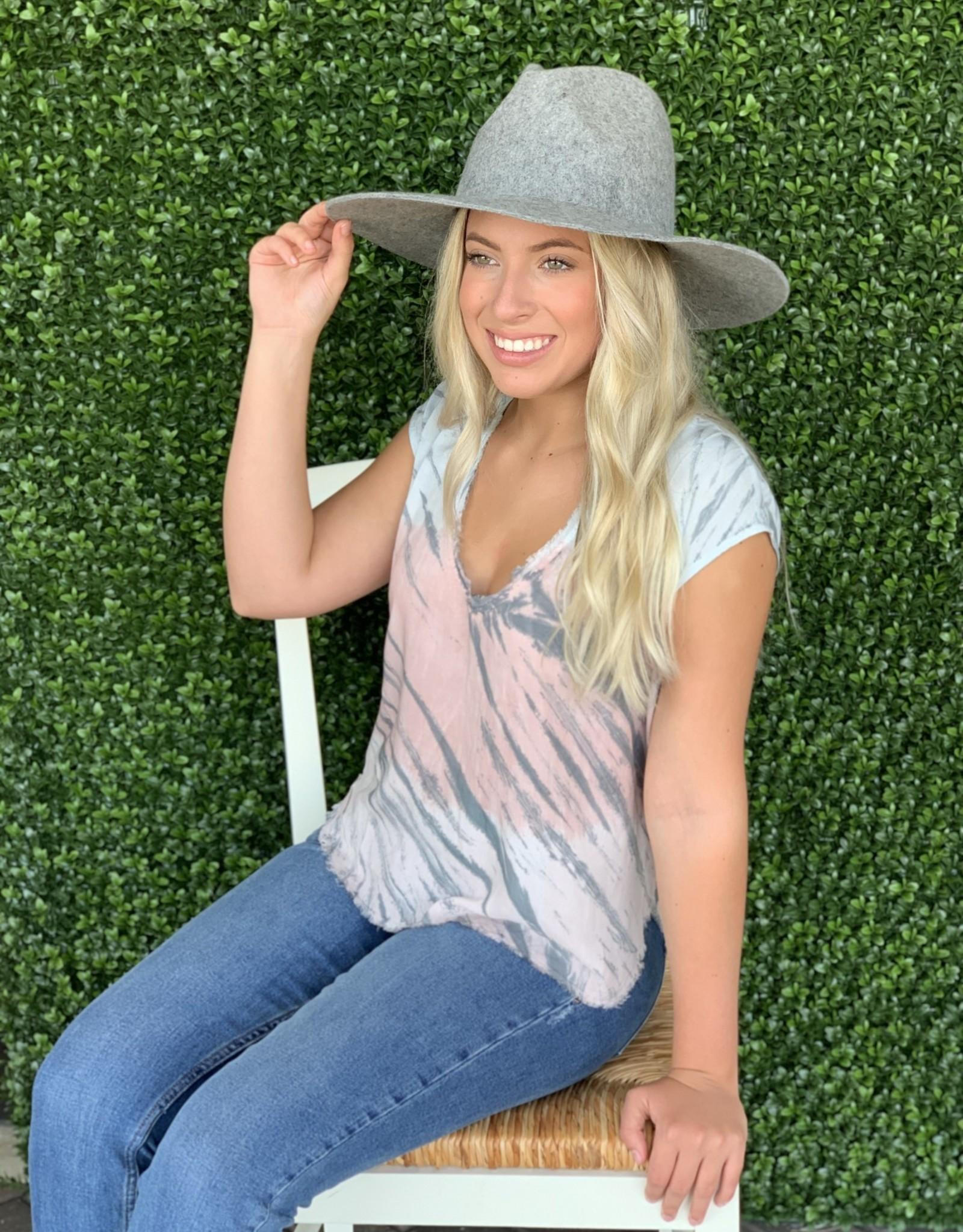 Karlie Grey Tie Dye scoop top