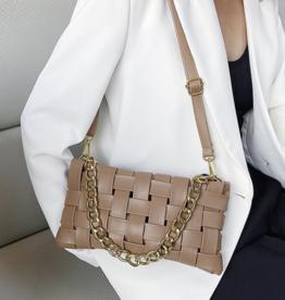 Heather Braided bag