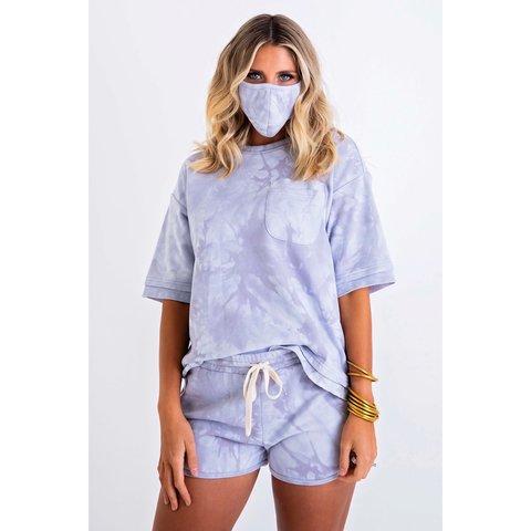 Tie Dye French Terry Pocket Set w/ MASK
