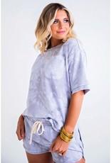 Karlie Tie Dye French Terry Pocket Set w/ MASK