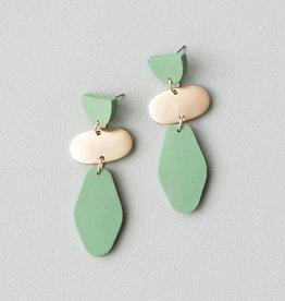 MICHELLE MCDOWELL Jenna Green Earrings