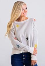 Karlie Multi Star Novelty Sweater