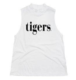 Kickoff Tigers Sideline Mock Neck Tank