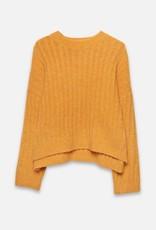 Wild Pony Miranda Mustard Sweater