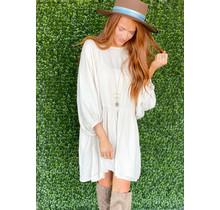 Carlota Dress- Cream