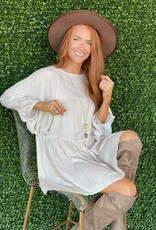 Wild Pony Carlota Dress- Cream