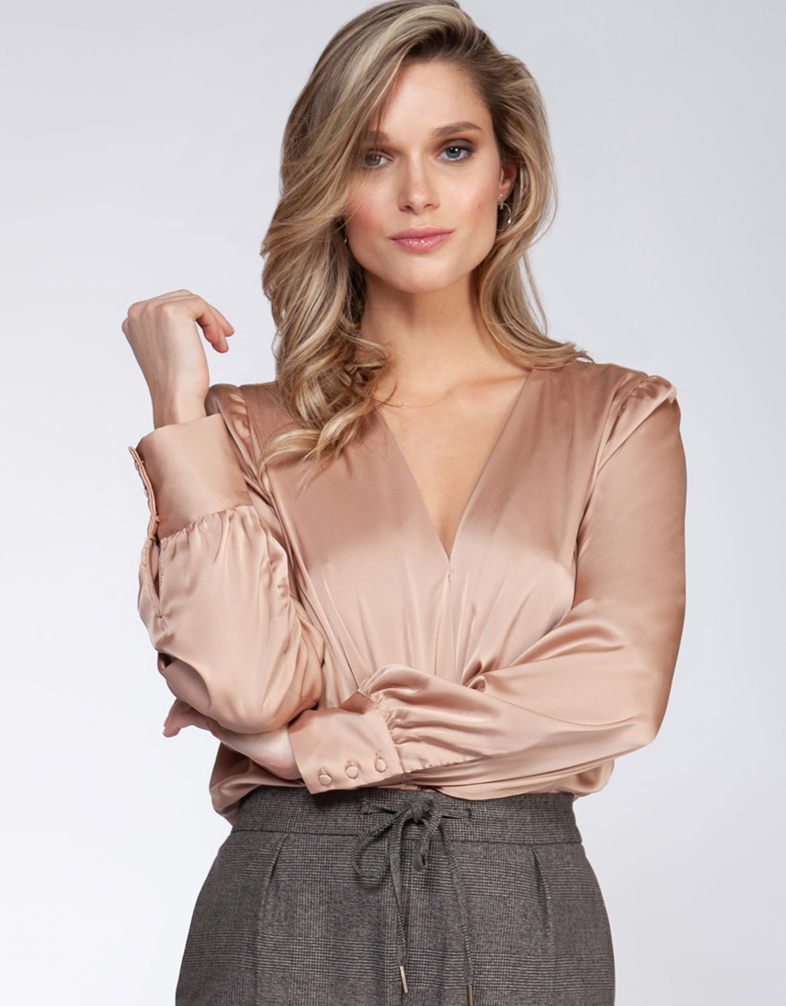 Rose Wrap Bodysuit