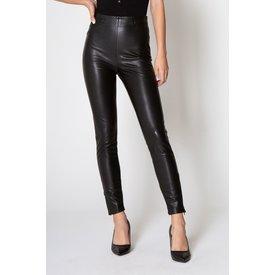 Black Nina Leather Pant