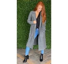 Gray Fleece Coat