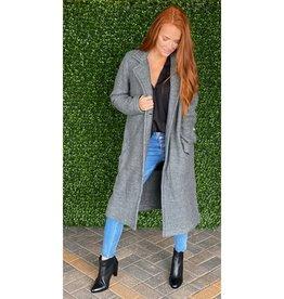 Fifteen Twenty Gray Fleece Coat