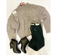 Greige Mix Sweater