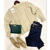 White Beach Ladies Knit Sweater