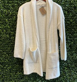 RD Style Winter White Cozy Cardigan