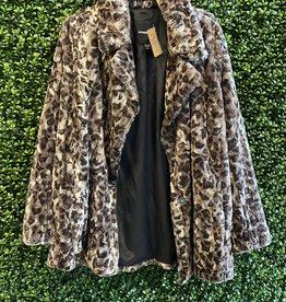 Fifteen Twenty Leopard Fur JAcket