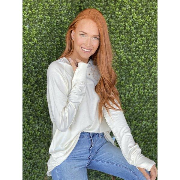 Mila Cream Sweatshirt