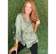 Olive Utility Top