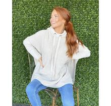 Hooded Tunic Sweater