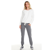 Heather Grey Jogger Pant