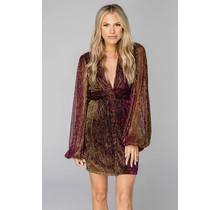 Amber Dress- Purple Haze