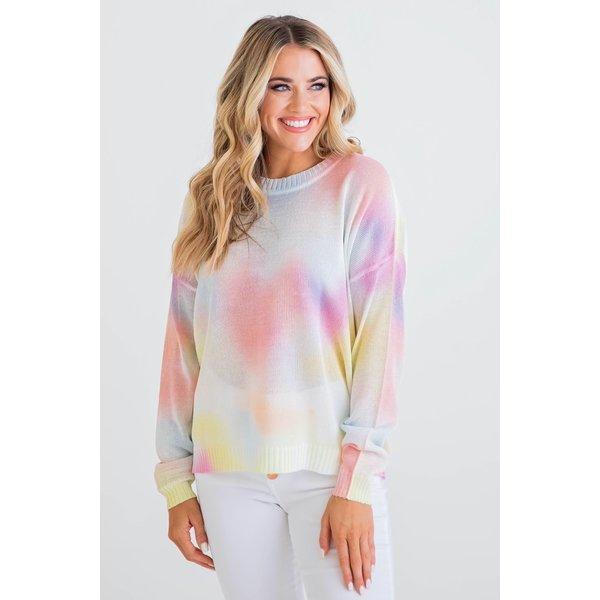 Tie Dye Multi Sweater