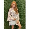Mint Floral Tiered Dress