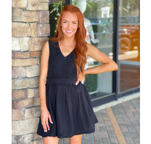 Black Woven Dress