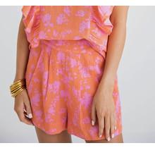 Floral Linen Short