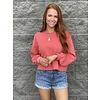 Spiced Coral Sweatshirt