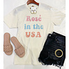 Rose' In The USA Tee