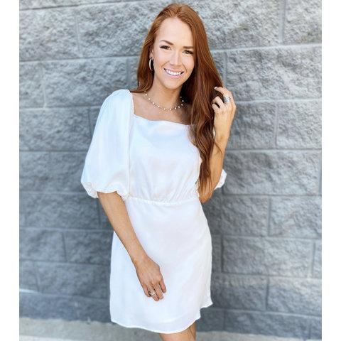 Maureen White Dress
