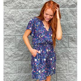 Kelsie Dress- Bali Floral Print