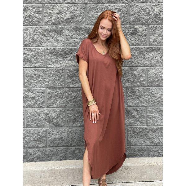 RedWood Maxi Dress