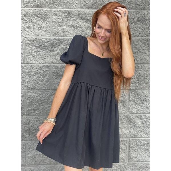 Angelia Dress- Black
