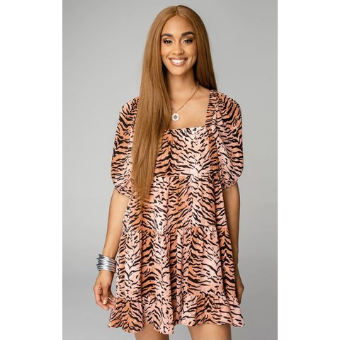 Becca Siberian Tiger Dress