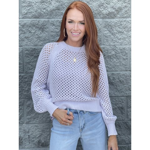 Brooke Pullover- Orchid