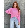 Paisley Bubblegum  Crew Sweater