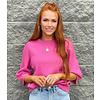 Pink Bishop Sleeve Sweater