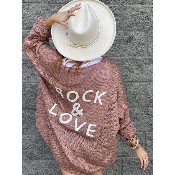 Rock & Love Mauve Cardigan