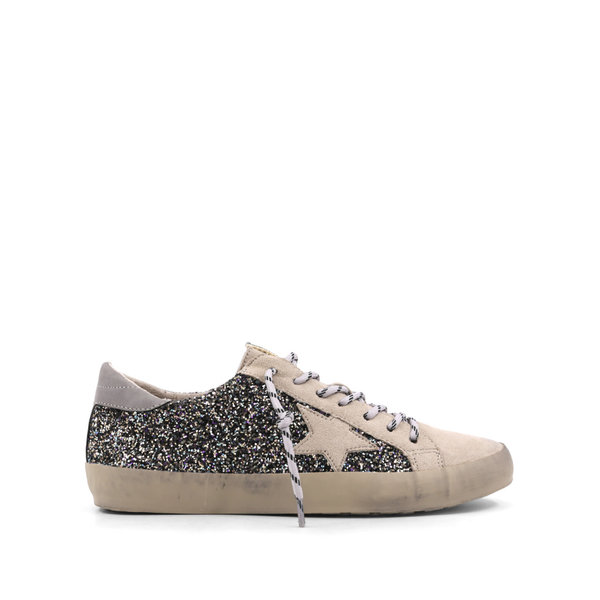 Perry Pewter Sparkle Sneaker