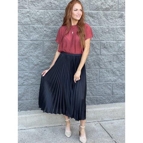 Mia Skirt- Black