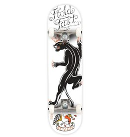 "Seven SEVEN SKATES Tattoo Panther Complete Skateboard, 7.8"""